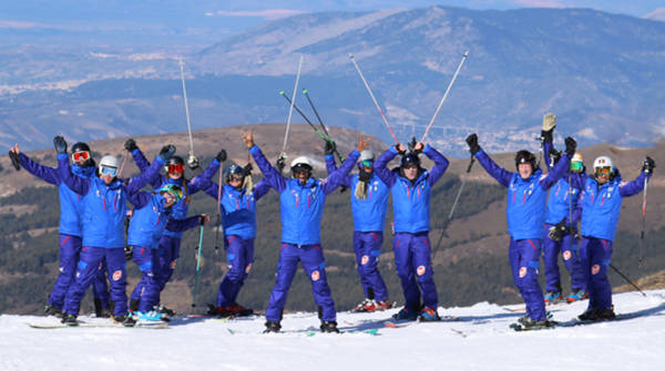 British Ski Center instructors Sierra Nevada