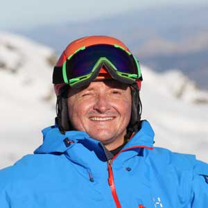 Giles Birch Ski Instructor Sierra Nevada
