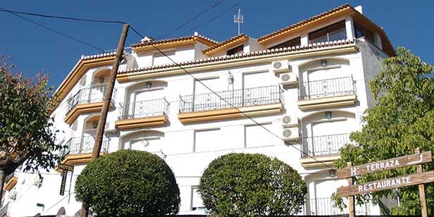 Hotel Juan Francisco Sierra Nevada front