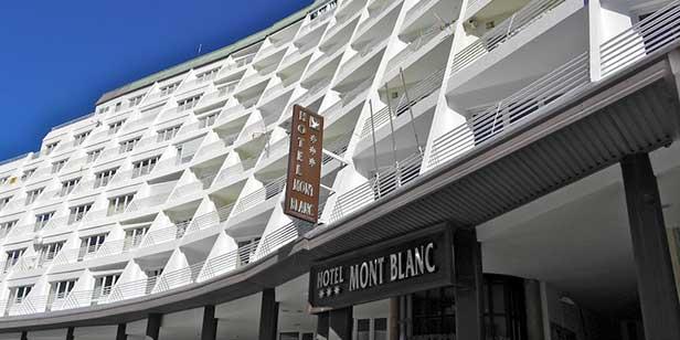 Hotel Mont Blanc Sierra Nevada exterior