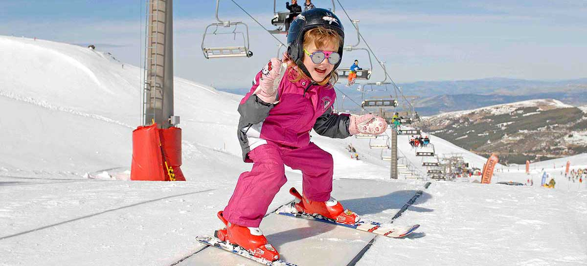 Activities for children Sierra Nevada Ski Resort