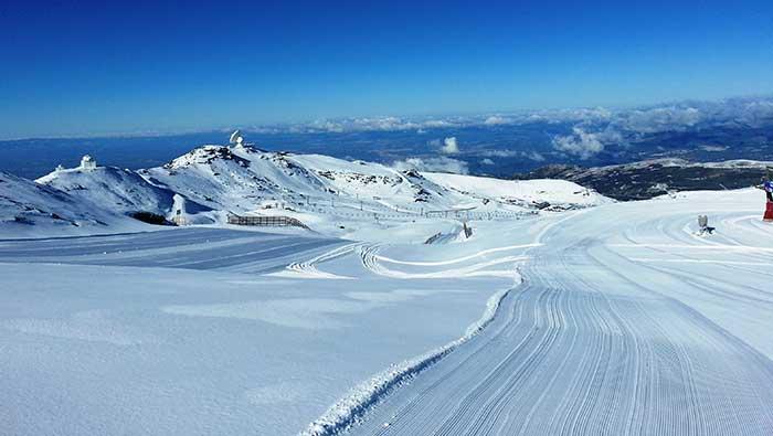 Borreguiles ski area Sierra Nevada