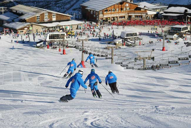 British Ski Center Instructors