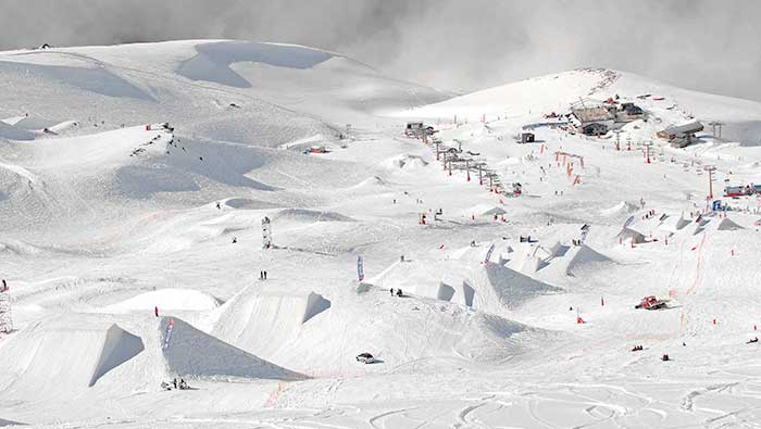 Loma de Dílar ski area Sierra Nevada