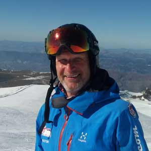Neale McBride Ski Instructor Sierra Nevada
