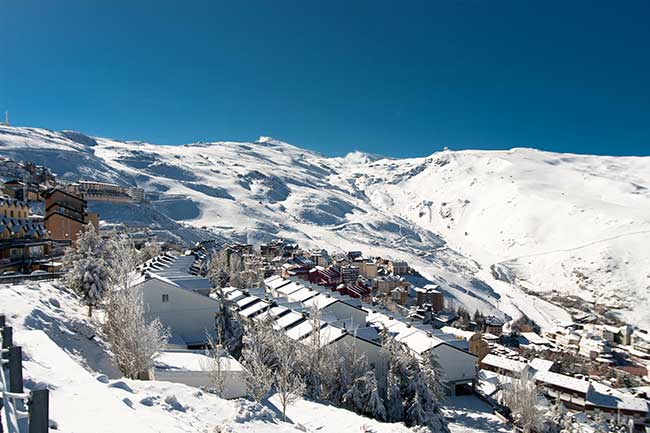 Pradollano Ski Resort Sierra Nevada