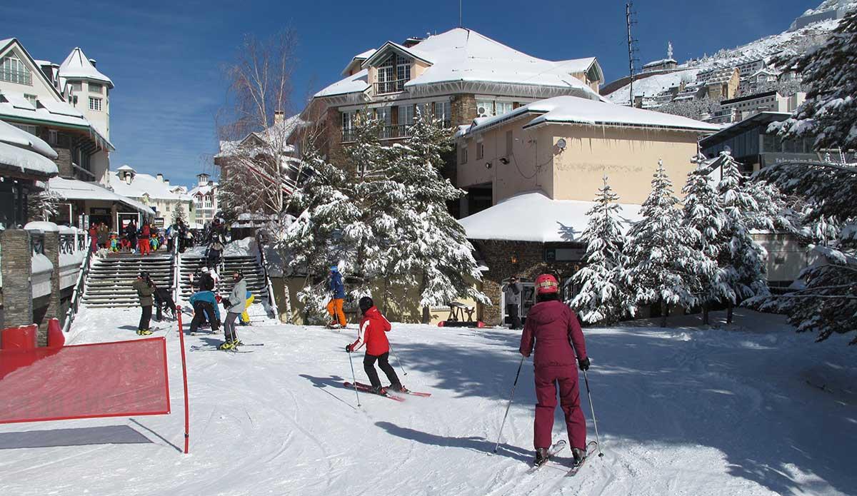 Sierra Nevada Ski Resort Spain