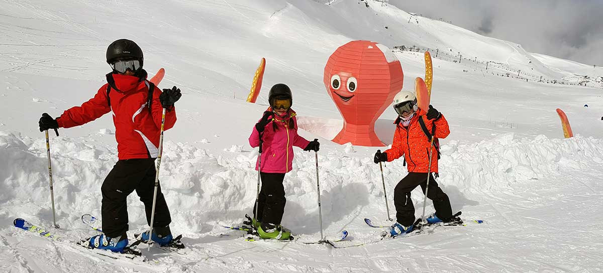 Themed ski area for children Sierra Nevada