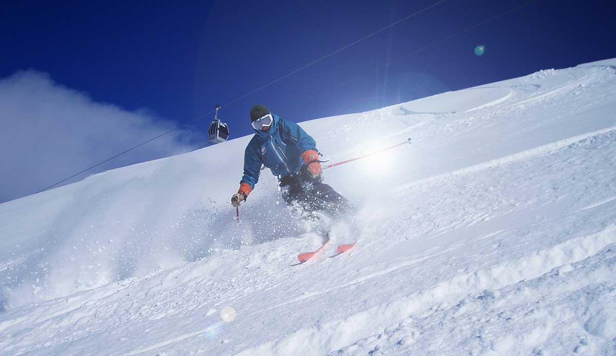 Skiing Sierra Nevada Spain