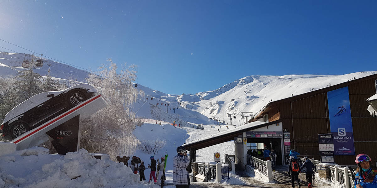 Book ski lift passes for Sierra Nevada Granada Spain