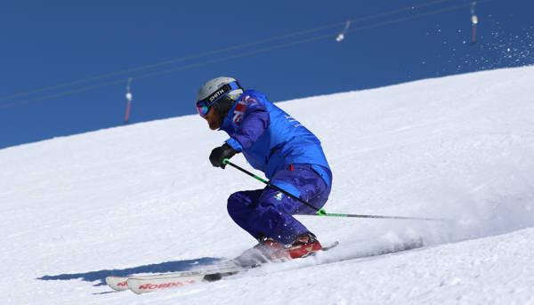 British Ski Centre instructor Sierra Nevada Granada Spain